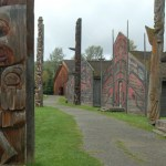 Ksan historical village near Hazelton, BC