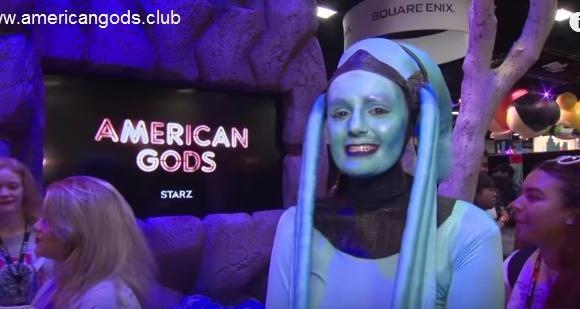 Comic Con'da American Gods Standına Girmek İster Misiniz ?