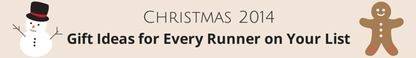 Christmas 2014, Gift Ideas, Runner, Aches and Pains,