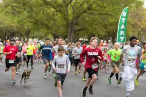The Start of the 2015 Carol Marsh Kids to Camp 5k
