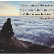 Runners Have Nature