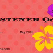 Listener Q&A May 2015