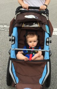 Running with a Baby