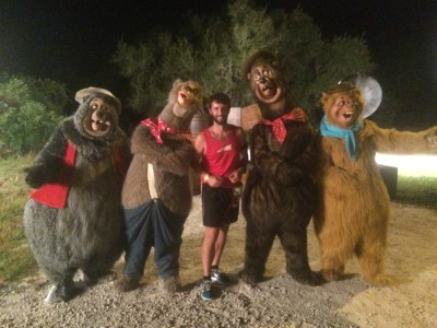 Country Bears at the 2015 Wine and Dine Half Marathon