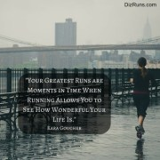 Your Greatest Run...