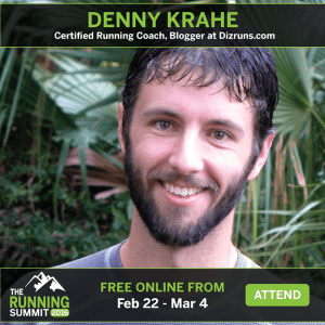 Proof I'll Be Speaking at the Connect Run Club Virtual Running Summit