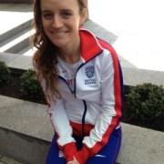 Tina Muir Representing Great Britain