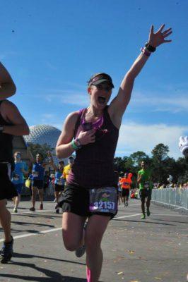 Megan Biller During the Inaugural Dopey Challenge