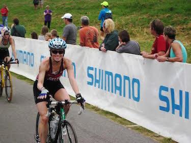 Jesica D'Avanza on Bike Mid-Tri