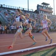 Rebecca Tracy Running as Part of the Oiselle Team