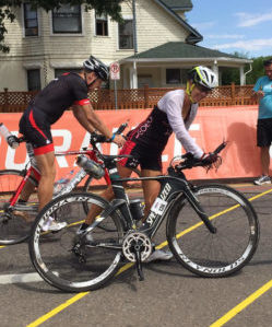 Amy Stone, Transitioning to the Bike