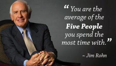 Jim Rohn 5 People