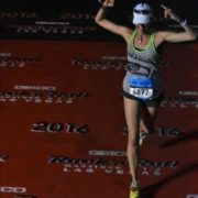 Gretchen Schoenstein Finishing Her 53rd Race