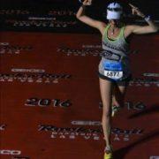 Gretchen Schoenstein Finishing Her 53rd Race