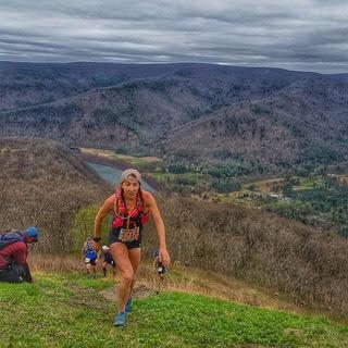 Alicia Rich Mid-Race