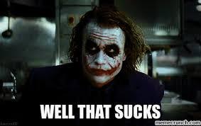Joker Sucks