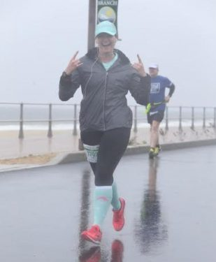 Jess Skarzynski Running in the Rain