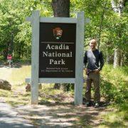 Bill Sycalik at His First National Park