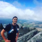 Chris Ward on the Mountain Top