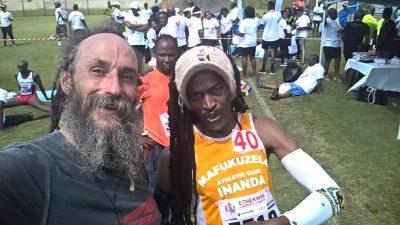 Ras Vaughan After 1st Road Marathon