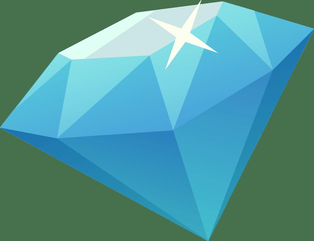 1000 Diamonds Mobile Legends Diamonds Png - wallpaper png