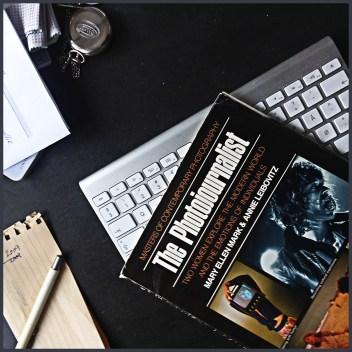 Bogen på mit skrivebord