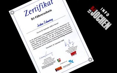 DJ-Lizenz (seit 2008)