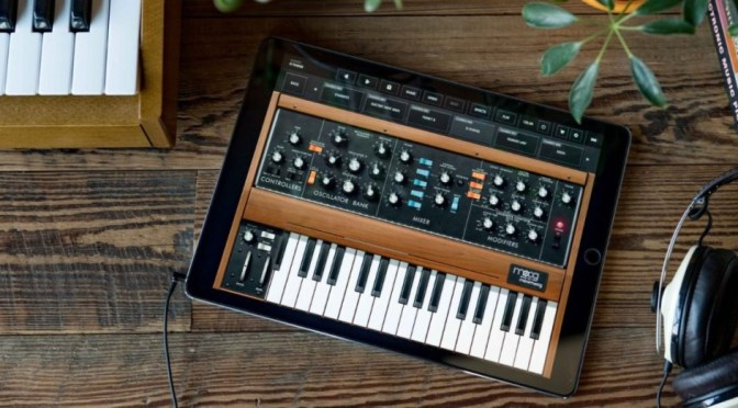 [News] Minimoog Model D per iPhone e iPad Gratis