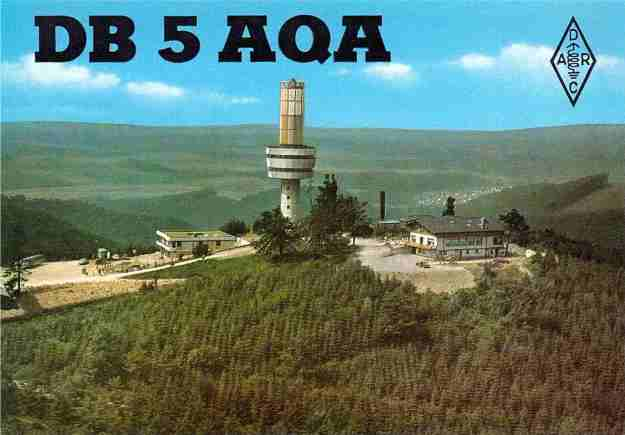 """DB5AQA was the callsign for my 2nd QTH on the """"Ravensberg"""" near Bad Sachsa (JO51go)"""