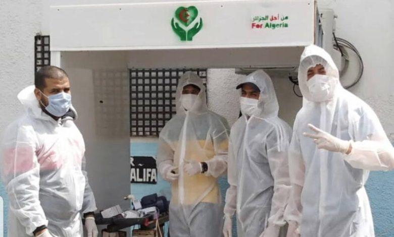 صورة إستلام 5200 كاشف سريع عن فيروس كورونا مساعدة من الجالية الجزائرية في الخارج