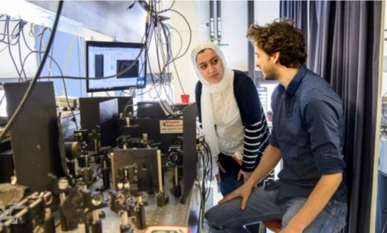 صورة جزائرية تفوز باحسن بحث فيزياء 2020