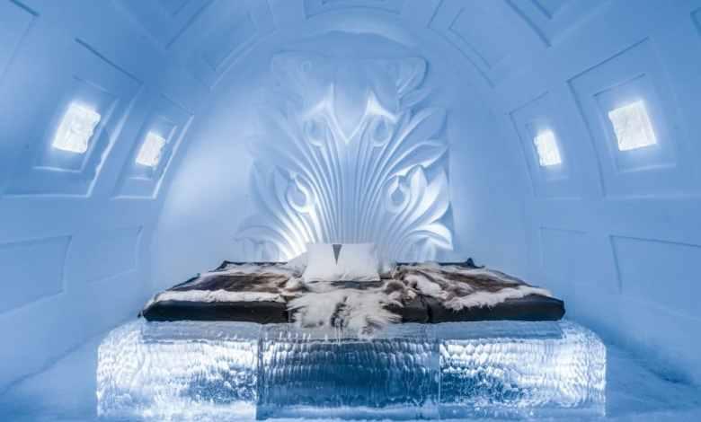 صورة فندق الجليد في السويد وجهة ب75 ألف زائر سنويا
