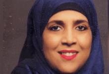 """صورة المترشحة عائشة حمادوش عن المنطقة الرابعة: """"نضالي ليس وليد اليوم وأسعى لتحقيق إنشغالات الجالية"""""""