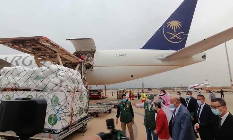 صورة الجزائر تستلم مساعدات من المملكة العربية السعودية