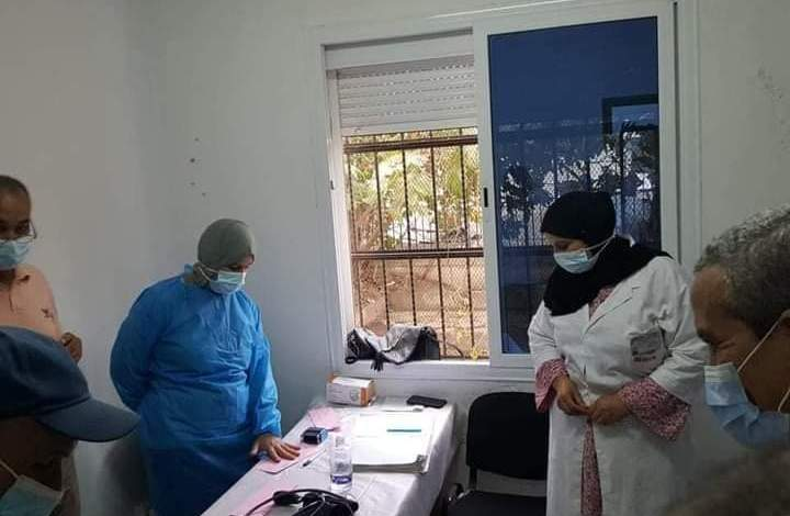 """صورة """"مليون"""" مواطن استفاد من اللقاح خلال الحملة الوطنية الكبرى للتلقيح"""