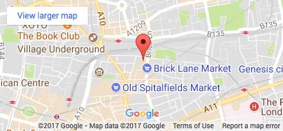 DJA Online Services Google Map E1-6QL