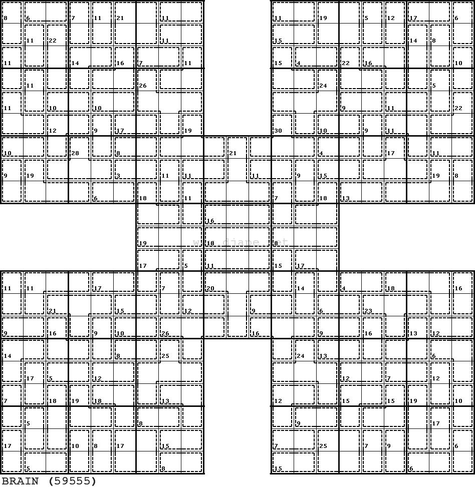 graphic regarding Samurai Sudoku Printable identified as KILLER Samurai Sudoku