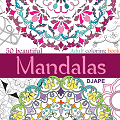 Mandala adult coloring book, 50 beautiful mandalas