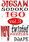 Jigsaw Sudoku, 160 very twisted puzzles, volume 3