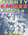 Mighty Kakuro 20x25