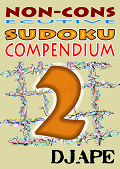 Non Consecutive Sudoku book, volume 2