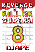 Revenge of Killer Sudoku book, volume 8