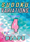 Sudoku Variations book, volume 4