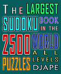 The Largest Sudoku book in the world, 2500 puzzles