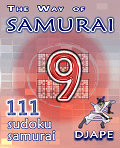 The Way of Samurai sudoku, volume 9, 111 puzzles