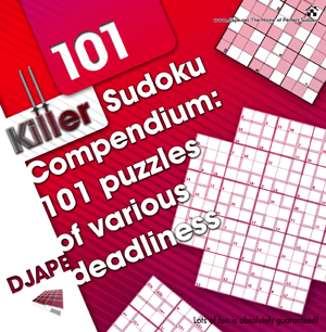 Killer Sudoku Compendium book
