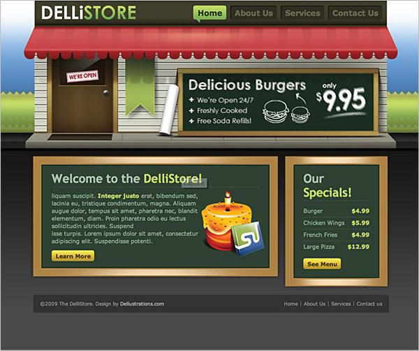 50+ High-Quality Free PSD Web Templates 4