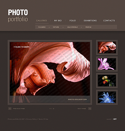 50+ High-Quality Free PSD Web Templates 17
