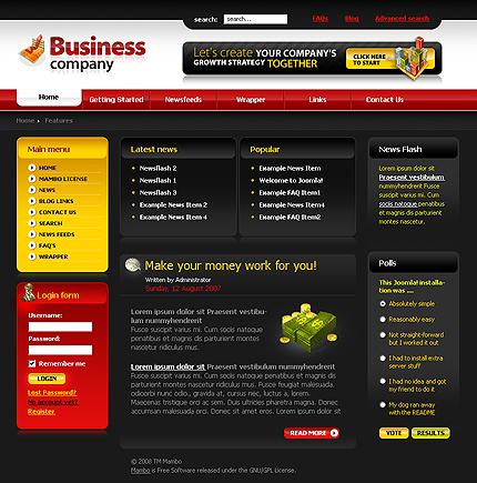50+ High-Quality Free PSD Web Templates 27