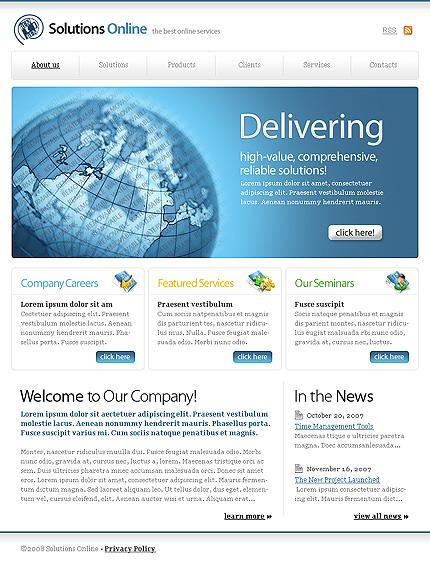 50+ High-Quality Free PSD Web Templates 28